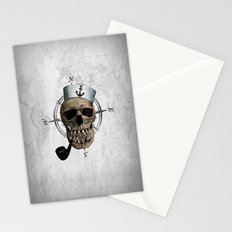 HOLD FAST  (skull series 1 of 3) Stationery Cards