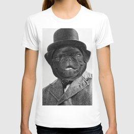 Sir Winston Pug Churchill T-shirt