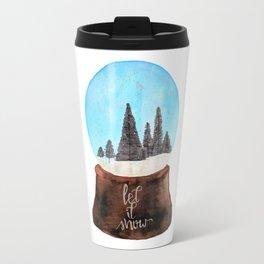Let it Snow(globe) Travel Mug