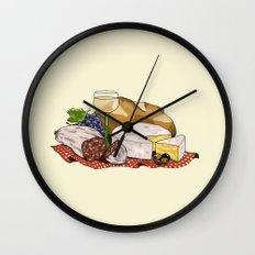 Perfect Picnic Wall Clock