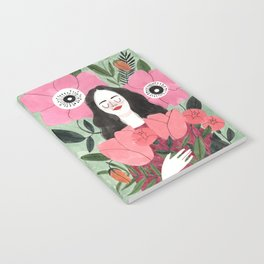 Among Flowers Notebook