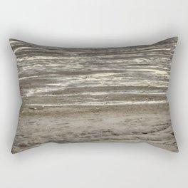 Little birds in the sand Rectangular Pillow
