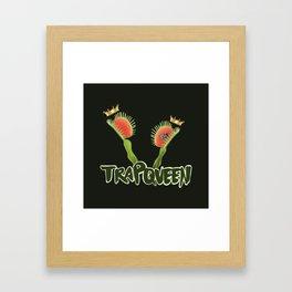 Trap Queen Framed Art Print