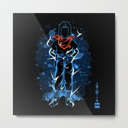 The Handsome 17 Metal Print