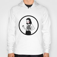 lydia martin Hoodies featuring Lydia by KITA