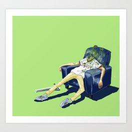 Do drugs and Die. Art Print