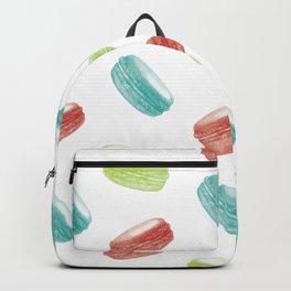 macaroons pattern Backpack