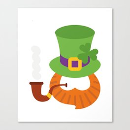 Funny St. Patrick's Day for Kids Boy Canvas Print