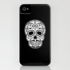 Mexican Skull - Black Edition iPhone (4, 4s) Slim Case