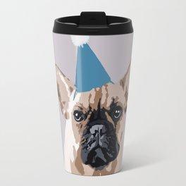 Milo on light grey Travel Mug