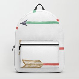 Tribal Arrows Art Backpack
