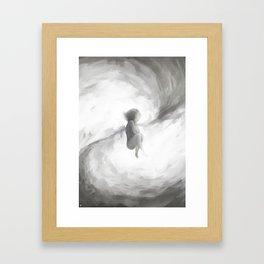 Princesa Branca Framed Art Print