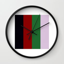 The Death of a Cancer patient (Bridge logo) Wall Clock