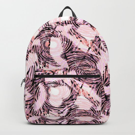 Abstract pattern.1 Backpack