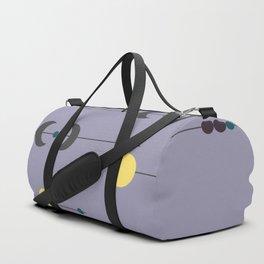 Waxing Waning Moon and Sun Duffle Bag