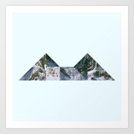 Glacier Art Print