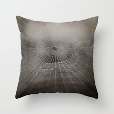 Oh What a Tangled Web We Weave.......  Throw Pillow