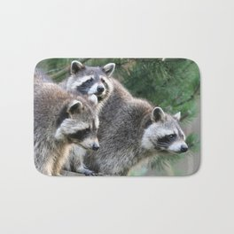 Raccoon_001_by_JAMFoto Bath Mat