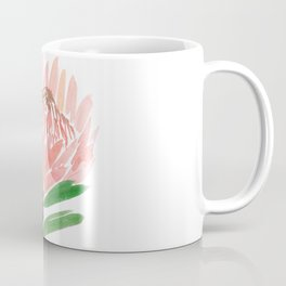 King Protea in Blush Pink Coffee Mug