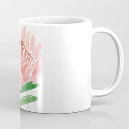 King Protea in Blush Pink Coffee Mug