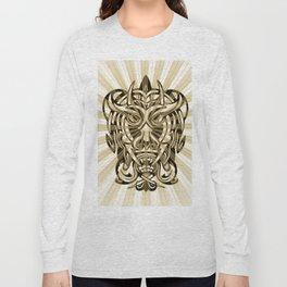 Vicious Tribal Mask 008 Long Sleeve T-shirt