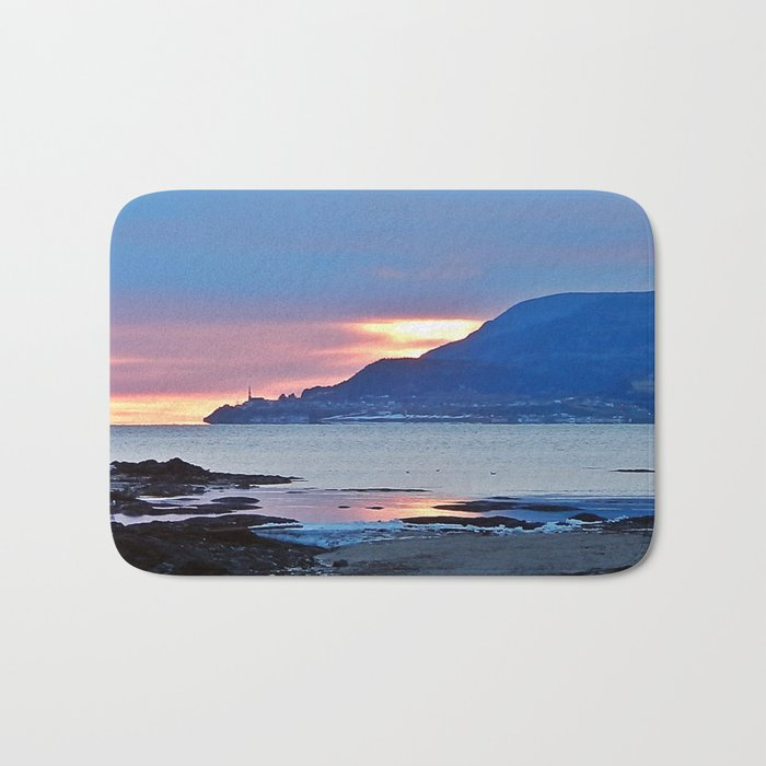 Sunrise in Tourelle Bath Mat