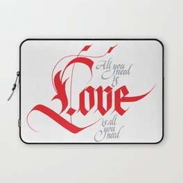 Love for share Laptop Sleeve