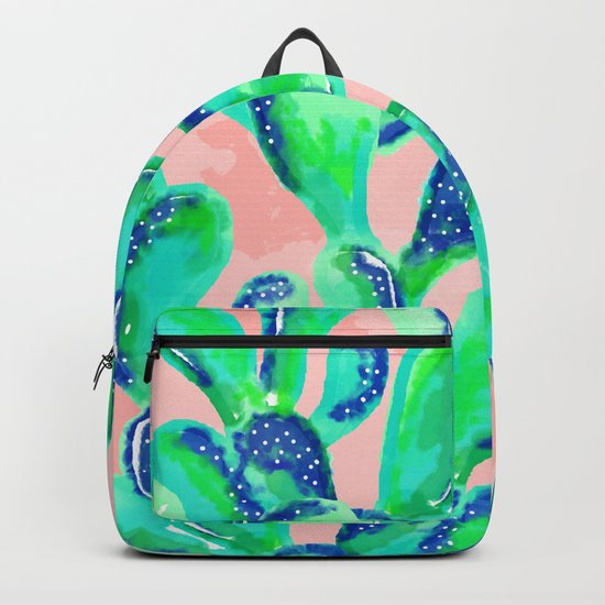 Cactus Life || #society6 #decor #buyart #83oranges Backpack