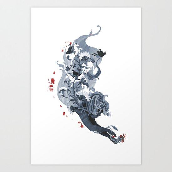 Luckless Art Print