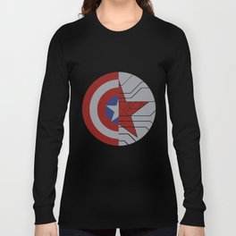 Stucky Shields (Without Quote) Long Sleeve T-shirt