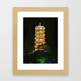 Nighttime Li River Cruise - Guilin China 1 Framed Art Print