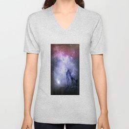 Star Wolf Unisex V-Neck