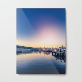 Harbour Sunrise Metal Print