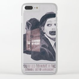 A Change Of Heart Clear iPhone Case