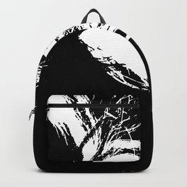 Black & White Hair 2 Backpack