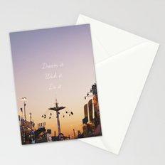 Dream it.Wish it. Do it Stationery Cards