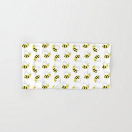 Bumble Bee Pattern Hand & Bath Towel