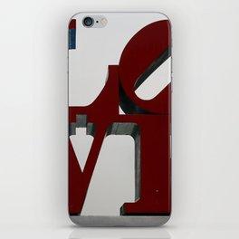 Love Philadelphia Sculpture iPhone Skin
