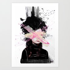 nothing at all.... Art Print