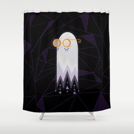 Old Ghosty Shower Curtain