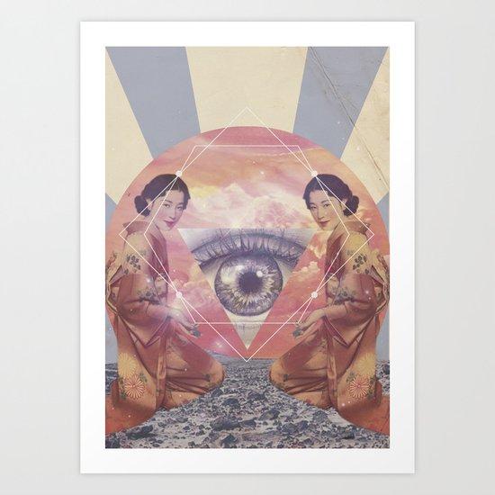 UNIVERSOS PARALELOS 001 Art Print