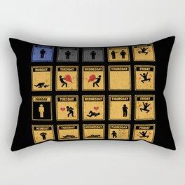 Friday I'm In Love! Rectangular Pillow
