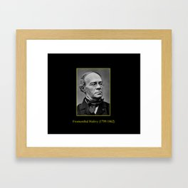 Etienne Carjat- portrait of Halevy Framed Art Print