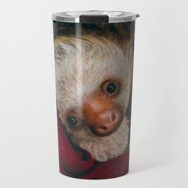 Baby Sloth Cute Travel Mug