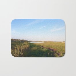 """""""Afternoon at the Marsh, Tybee Island, Georgia"""" by Simple Stylings Bath Mat"""