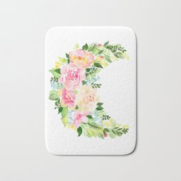 Crescent Bloom Bath Mat