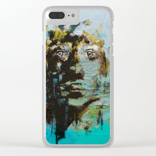The Human Race 5 Clear iPhone Case