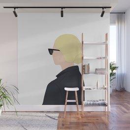 Beautiful girl blond, simple, beauty Wall Mural