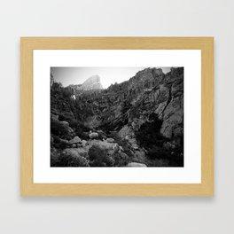 Siphon Draw Framed Art Print