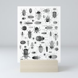 Ink Beetles Mini Art Print